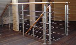 Модульная лестница A210 (Alu), производства Германии