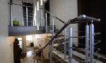 Лестница - модульная (пр-ва Германии), деревянные изделия: массив красного дуба (Red Oak)